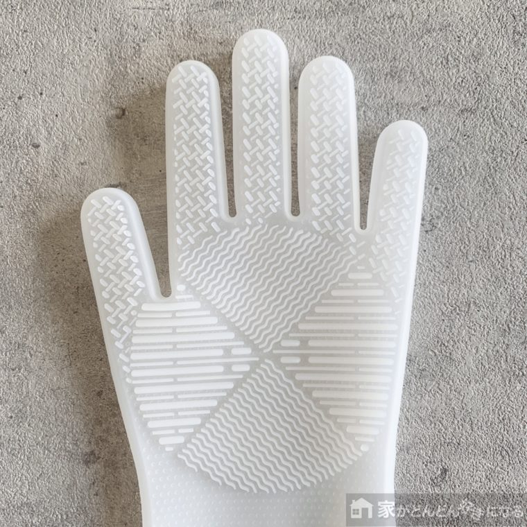 左手のシリコン