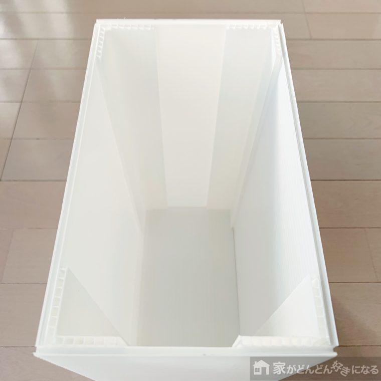 完成したゴミ箱